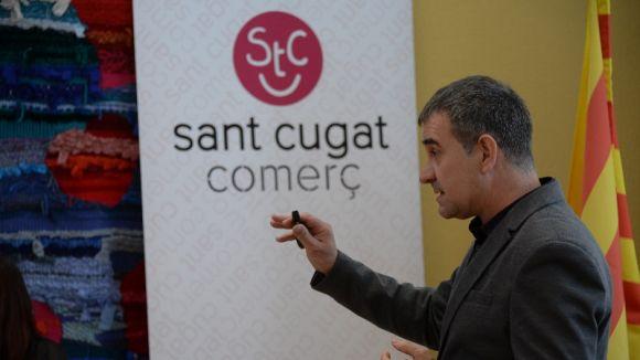 Sant Cugat Comerç renova imatge corporativa amb una aposta pel rosa i una nova web
