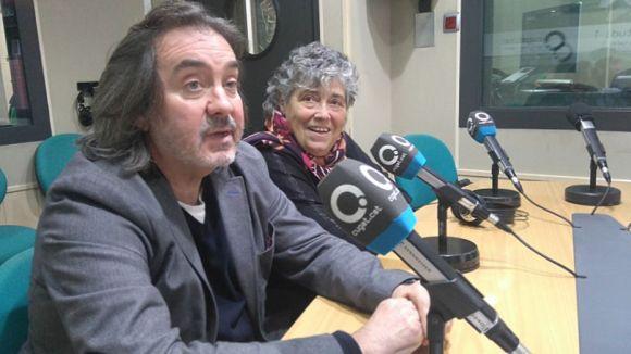 D'esquerra a dreta, Quico Comelles i Rosa Maria Marquès