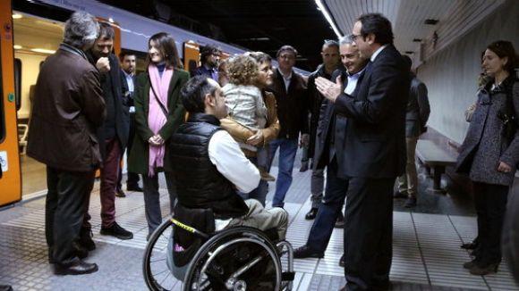 Rull a l'estació de FGC de Sarrià / Foto: ACN
