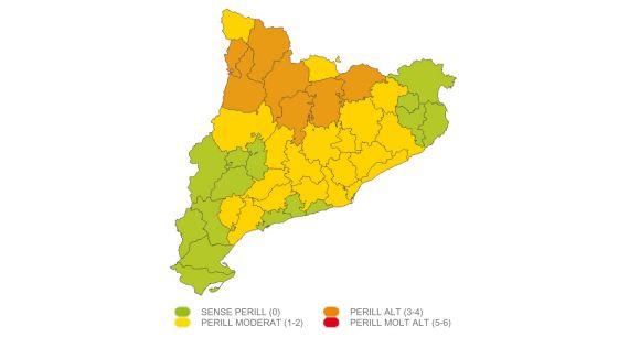 Protecció Civil alerta de 'perill moderat' de vent al Vallès Occidental