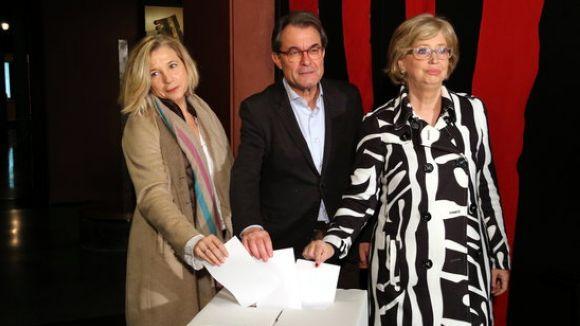 L'ANC i Òmnium donaran suport a Mas, Rigau i Ortega amb una comitiva de més de 200 persones
