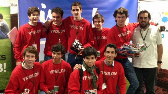 L'equip Ypsilon del Viaró es classifica per la final de la First Lego League