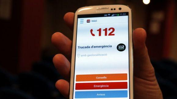 El 112 registra 11.641 trucades el 2016, un 12% més que l'any anterior