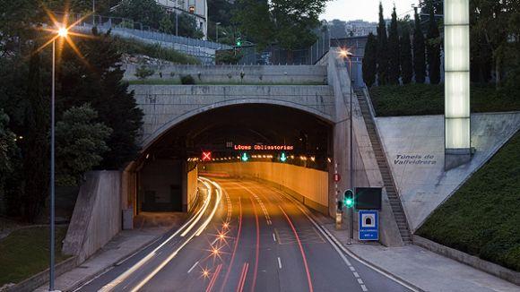 Imatge d'arxiu dels Túnels de Vallvidrera / Foto: Túnels