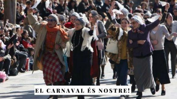 Els Tallers de Teatre Sílvia Servan fan una crida de participació al ball de Velles de Carnaval