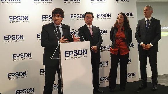 Epson Ibérica inaugura una seu corporativa de més de 3.000 metres quadrats a Sant Cugat