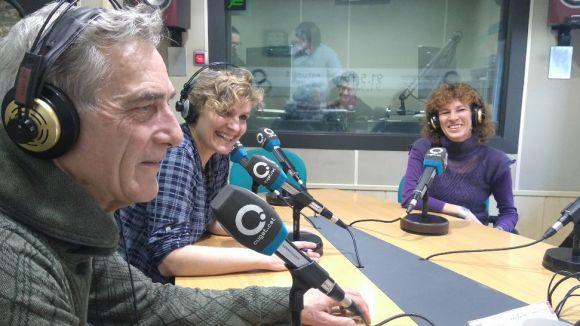 D'esquerra a dreta, Michael Rust, Mont Carvajal i Teresa Petit