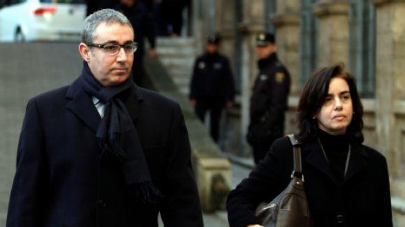 Diego Torres amb la seva dona / Foto: ACN