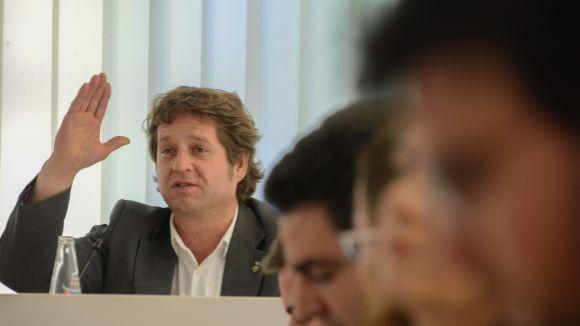 Pere Soler es presenta com a precandidat a les primàries del PSC pels comicis municipals