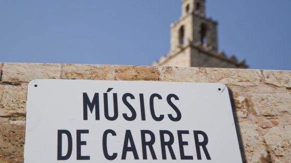 Neix el projecte 'Músics de carrer' per oferir música en directe a 10 espais de l'eix de vianants