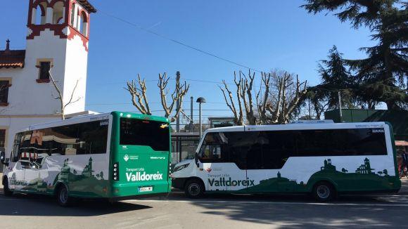 Valldoreix estrenarà aquest dimecres dos autobusos amb un model de carrosseria pioner