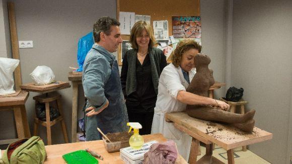 La Casa Aymat es renova amb nous espais i tallers com a fàbrica de creació i formació