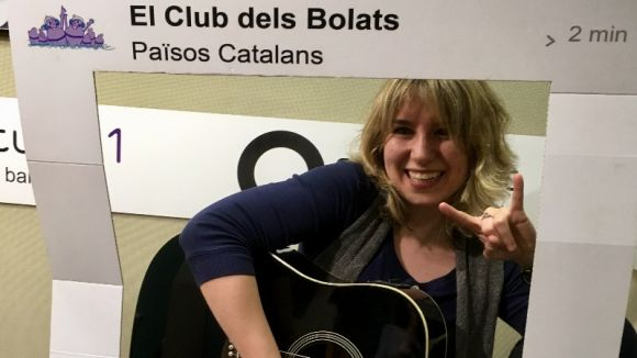 El Club dels Bolats més carnavalesc rep Mireia Vilalta