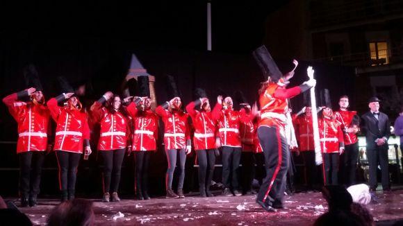L'agrupació Tea Time guanya el concurs de comparses de la rua de Carnaval