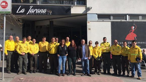 L'ADF rep una donació de material valorat en 1.000 euros del restaurant La Jarana