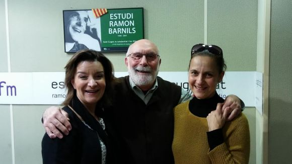 Gemma Navarra, Eduard Jener i Laura López al 'Molta Comèdia'