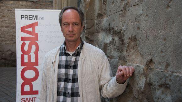 Joan Puigdefàbrega guanya el premi de poesia Sant Cugat a la memòria de Gabriel Ferrater amb 'Deshora'