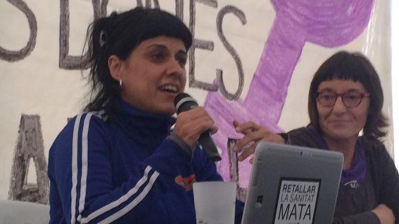 Anna Gabriel: 'El fet de tenir un nou estat no implica que el feminisme aparegui indefectiblement'