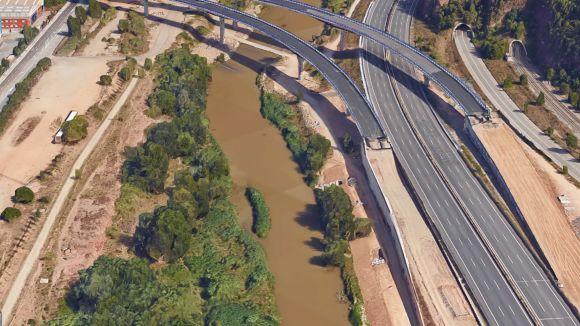 Un imatge de l'enllaç en el seu estat actual / Foto: Google Maps