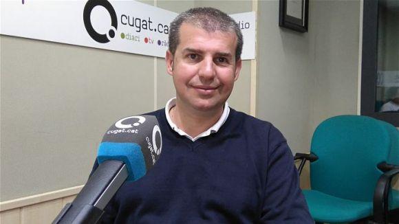 Àlex Florensa, president d'Eines Centre d'Addiccions / Foto: Cugat Mèdia