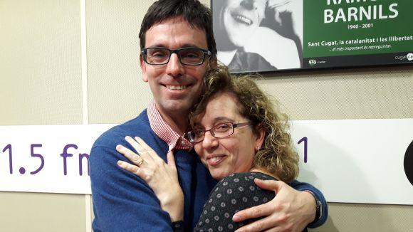 Daniel Ruiz Trillo i Cristina Company són molt amics