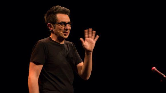 L'humor de Berto Romero omple de rialles un Teatre-Auditori amb les entrades exhaurides