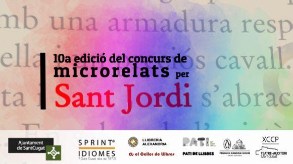 Cugat.cat dóna el tret de sortida a la 10a edició del concurs de microrelats de Sant Jordi