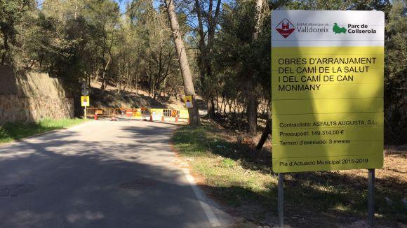 El camí de la Salut estarà tallat per obres durant dos mesos / Foto: Lluís Llebot