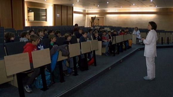 Una trentena d'alumnes de La Farga participa a les jornades de sensibilització de l'HGC