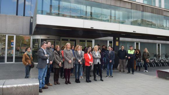 Sant Cugat condemna l'atemptat de Londres amb un minut de silenci