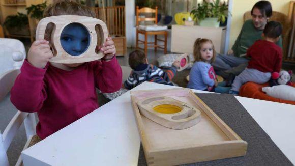 Les visites serveixen per conèixer els centres de cara a la preinscripció del proper curs / Foto: Ajuntament-Lluís Llebot
