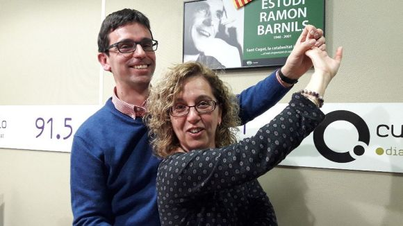 Dani Ruiz-Trillo i Cristina Company són una gran parella de ball