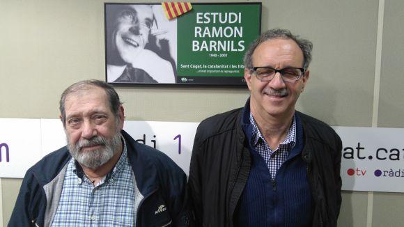 D'esquerra a dreta, Toni Bozzo i Silvano Bendinelli
