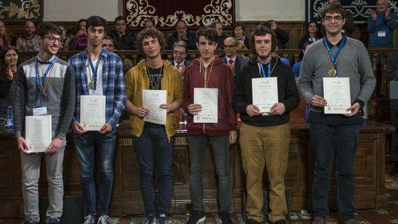 El santcugatenc Jan Olivetti, medalla d'or a la 53a Olimpíada Matemàtica espanyola