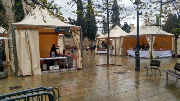 La pluja desllueix els actes de dissabte del 'Sant Cugat ve de gust'
