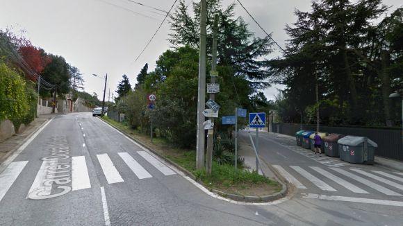 Una de les cruïlles on s'han instal·lat càmeres / Foto: Google Maps
