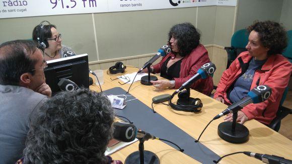 D'esquerra dreta, Rosa Maria Marquès, Francesc Codonyés, Àngela Balcells i Mònica Gonzales