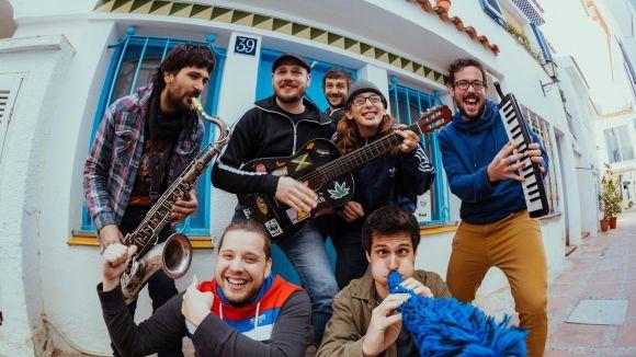 La música de Buhos, un dels plats forts de la jornada a la Festa Major
