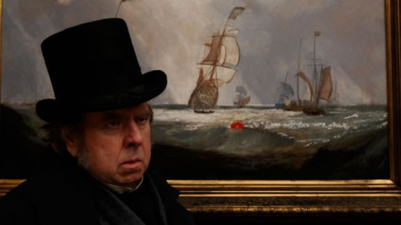 Un fotograma del film 'Mr.Turner'