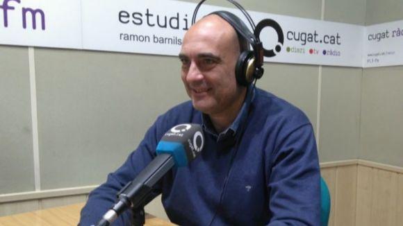Xavier Bosch, a l'estudi Ramon Barnils de Cugat.cat