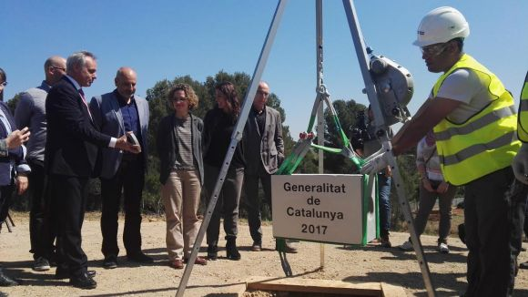 2017: Es posa la primera pedra del futur institut Leonardo da Vinci