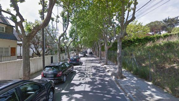 Els treballs d'asfaltat afectaran tot el passeig de Valldoreix / Foto: Google Maps