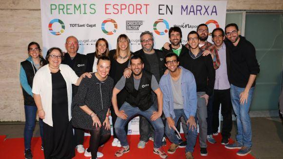 L'equip humà de Cugat.cat, pendent de la nit més esportiva de l'any