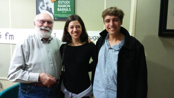 Els actors d''El jugador' Júlia Rodón i Eduard Autonell visiten el 'Molta Comèdia'