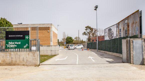 Entrada a la deixalleria de l'avinguda de Roquetes / Foto: AMB
