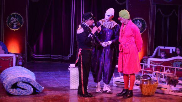Els pallassos del circ en una funció a Sant Cugat / Foto: Localpres