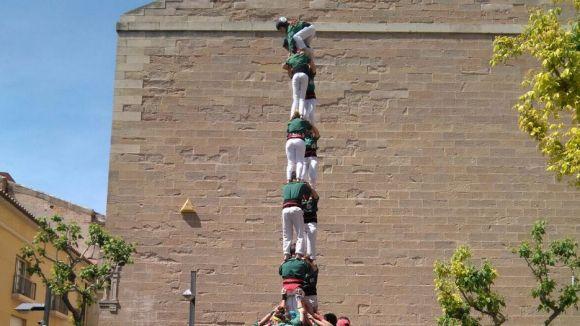 L'actuació dels Castellers a Igualada i l'Encabronada, al 'NiTrad'