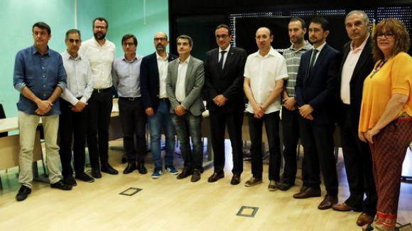 Ajuntaments i Generalitat exigeixen a Foment que les obres de l'enllaç de l'AP7 amb l'A2 acabin l'any que ve