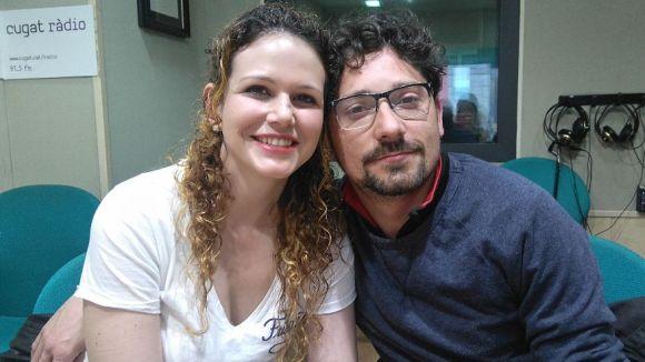 Sandra Serrano i el seu marit, Cristian Cabrera