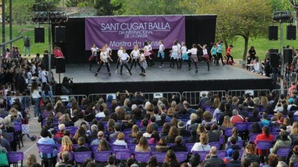La dansa mou el cap de setmana amb el 'Sant Cugat Balla'